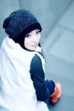 portrait stair woman young Στοκ Εικόνα
