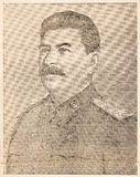 Portrait of Stalin Stock Photos