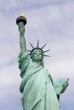 Portrait of Statue of Liberty Stock Image