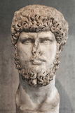 Portrait statue of the Rome emperor Lucius Verus. Portrait statue of the Rome  emperor Lucius Verus Stock Images