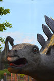 Portrait of a stegosaur Royalty Free Stock Photography