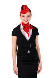 Portrait of stewardess Stock Image