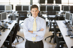Portrait Of A Stock Trader Stock Photo