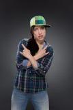 Portrait of street dancer Stock Photo