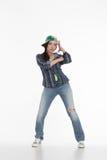 Portrait of street dancer Royalty Free Stock Image