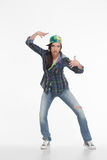 Portrait of street dancer Royalty Free Stock Photo