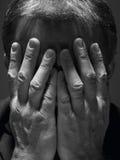 Portrait Of Stressed Businessman stock image