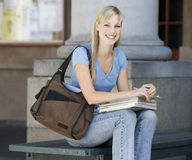 Portrait of a student stock photography