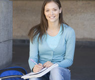 Portrait of a student Royalty Free Stock Photos