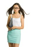 Portrait of student girl Royalty Free Stock Photography