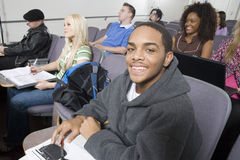 Portrait Of Student Smiling Stock Images