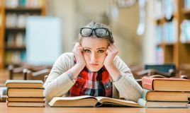 Portrait of Student Girl stock images