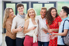 Portrait Of Students In Classroom Royalty Free Stock Photography