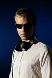 Portrait of stylish dj Royalty Free Stock Photo
