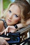Portrait of stylish lady Royalty Free Stock Images