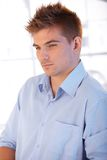 Portrait of stylish young man Stock Images