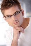 Portrait of stylish young man Royalty Free Stock Photography