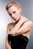 Portrait stylish young woman Royalty Free Stock Photography