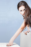 Portrait of stylish young woman Stock Image