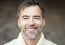 Portrait Of A Successful Adult Man Smiling stock image