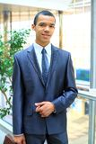 Portrait of a successful African American business man Stock Image
