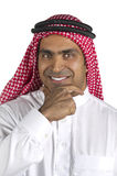 Portrait of a successful arabian business Royalty Free Stock Photos