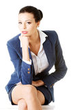 Portrait of successful attractive businesswoman Stock Image