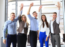 Portrait of successful business group Stock Photo