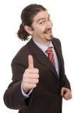 Portrait of successful business man Stock Image