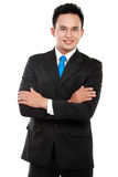 Portrait of a successful business man Stock Photography