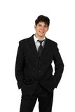 Portrait of a successful business man isolated Royalty Free Stock Photography