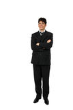 Portrait of a successful business man isolated Royalty Free Stock Photos