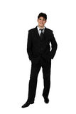 Portrait of a successful business man isolated Stock Images