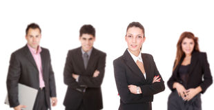 Portrait of a successful business team Royalty Free Stock Photo