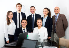 Portrait of Successful business team Stock Photo