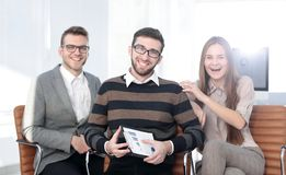 Portrait of successful business team Royalty Free Stock Photography