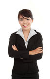 Portrait of successful business woman Stock Image
