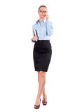 Portrait of successful business woman Stock Photo