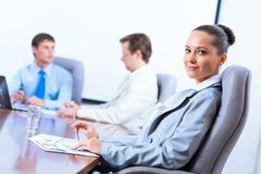 Portrait of a successful business woman Royalty Free Stock Photography