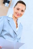 Portrait of a successful business woman Royalty Free Stock Photos
