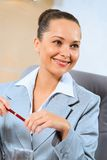Portrait of a successful business woman Royalty Free Stock Photo