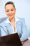 Portrait of a successful business woman Royalty Free Stock Images