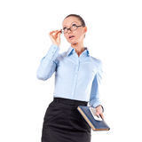 Portrait of successful business woman Stock Photos