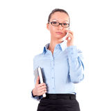 Portrait of successful business woman Stock Photography