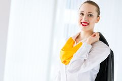 Portrait of a successful business woman Stock Image