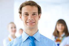 Portrait of a successful businessman Royalty Free Stock Photos