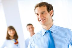 Portrait of a successful businessman Royalty Free Stock Images