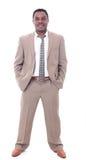 Portrait of a successful businessman Stock Images