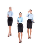 Portrait of successful businesswoman Stock Images