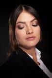 Portrait of successful businesswoman in studio photo Royalty Free Stock Photo